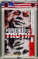 🔥🔥 Department of Truth #1 (2020 Image Comics) 1st Print EGS 9.8 not CGC