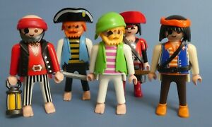 Playmobil Pirate Figures - Collection & Accessories for ship / boat Island  (C)