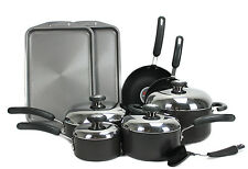 Circulon Total 13-Piece Anodized Non-Stick Cookware Set, Black | CIRCULON-83580