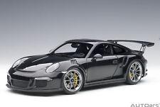 Porsche 911 991 Gt3 Rs 2016 Gloss Black AUTOART 1:18 AA78164