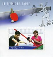 Benin 2019 MNH Table Tennis 1v S/S Sports Stamps