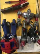 Transformers Animated Optimus Prime vs Megatron