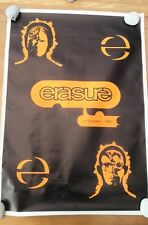 ERASURE Live 1992 large  POSTER 34x24 inches