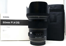 Sigma 50mm F/1.4 HSM AF, Sony A-Mount Objektiv