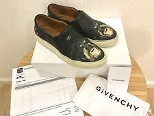 Givenchy Leather Slip On Sneakers Rottweiler Black Size 35 / 5