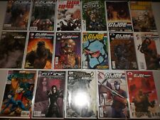 Box of G.I. Joe comics (Lot of 51 All pictured) Marvel DDP, Image, IDW, GI