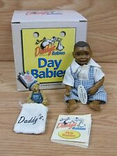 "KVK Daddy's Day Babies Black ""Ricky"" 5"" Pocket Doll **READ**"