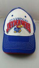 Kansas Jayhawks KU 100% Authentic Baseball Hat Cap & Adjustable Strap