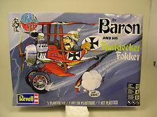 FROM SNOOPY ITS THE RED BARON AND HIS FUNTDECKER FOKKER REVELL PLASTIC MODEL KIT