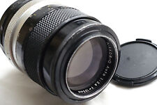 "Nikon Nikkor-Q Nippon Kogaku 135mm f2.8 ""Non Ai"" for mirrorles cameras Japan"