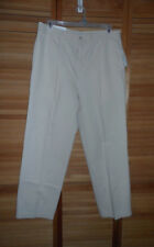 NEW WITH TAGS -MENS ALEX CANNON CASUAL PANTS- BUTTERMILK COLOR- SIZE 36