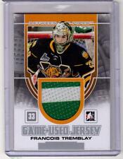 FRANCOIS TREMBLAY 13/14 ITG Between the Pipes BTP Rookie Jersey #13 Foreurs RC