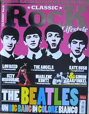 CLASSIC ROCK 23 2014 Beatles Spirit Angels Lou Reed Kate Bush Jane's Addiction
