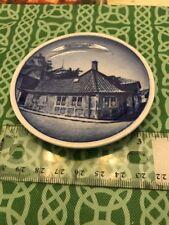 Royal Coppenhagen Hans C. Andersen's House Odense Ceramic Plate Free Shipping