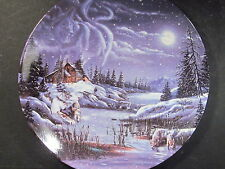 1993 A Hidden World D L Rust Two By The Night Two By The Light Ltd Ed Plate