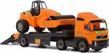 Jouet camion remorque rouleau compresseur voiture Set Childrens construction Fun Toys Cadeau Nouveau