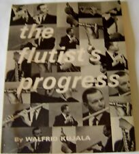 Flutist's Progress Flute Instructional Teaching Music Book 1970 Illustrated