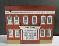 Cat/'s Meow 1992  HISTORICAL MUSEUM Main Street Series New Old Stock