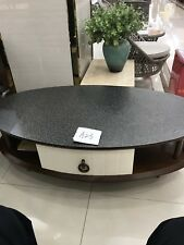EXCLUSIVE OVAL SHAPED ITALIAN COFFEE TABLE CHARMING DESIGN