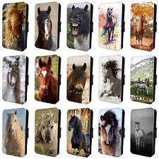 Teléfono Abatible De Caballo Pony increíble Funda para SAMSUNG GALAXY S5 S6 S7 S8 S9