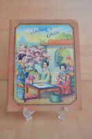 #Antique Trade Card Book# Scrapbook ChinaEmpire Peking Picture Map Culture Asia