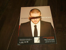 """Justin Timberlake of N'Sync ad for #1 hit """"Sexyback"""""""