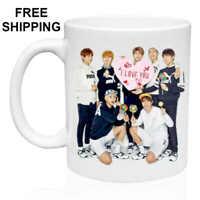 BTS, Bangtan Boys, Birthday, Christmas Gift, White Mug 11 oz, Coffee/Tea