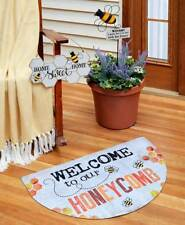DOOR MATS - Welcome to Our Honeycomb Bee Collection.