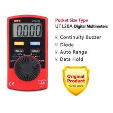 UNI-T UT120A Super Slim Pocket Handheld Digital Multimeter DC AC Volt Ohm Tester