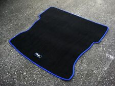 "Black/Blue Racing Boot Mat - Renault Clio Mk2 + ""Cup 172"" Logo (No Rear Seats)"