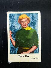 1956 VINTAGE SWEDISH DUTCH GUM MOVIE STAR CARD #NR 765 DORIS DAY PSA NR765