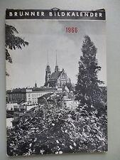 Brünner Bildkalender 1966 Brünn Mähren Tschechien Kalender Südmähren