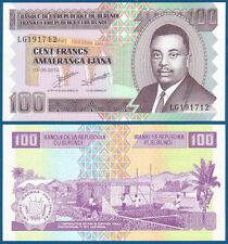 BURUNDI 100 Francs  2010  UNC  P. 44