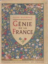 C1 Louis HOURTICQ - GENIE DE LA FRANCE Epuise ILLUSTRE Art Francais
