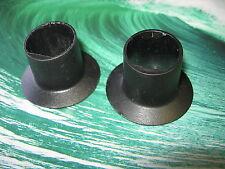 82-92 CAMARO FIREBIRD DOOR PANEL INTERIOR ARM REST SPACERS INSERTS BLACK FACTORY