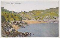 Guernsey postcard - Saints Bay