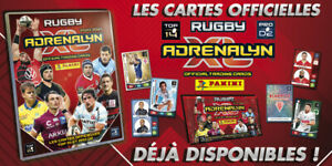 PANINI ADRENALYN XL RUGBY 2020/2021 ECUSSONS / CAPITAINES / CADORS  20/21