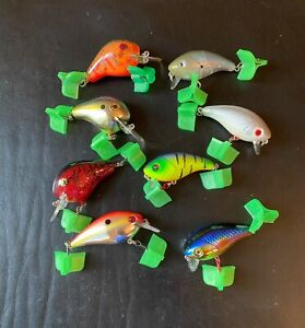 Squarebill Crankbait Bass Fishing Lures Lot Shallow Mann's Norman