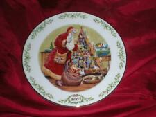 Lenox Annual International Victorian Santa Plate Collection Babbo Natale 2003