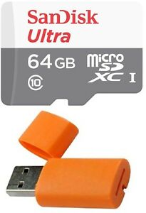 64GB Sandisk Micro SD HC SDXC Memory Card for Samsung Galaxy S20 S10 S9 S8 S7 S5