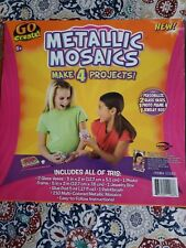 Metalic Mosaics Projects - Used. Complete