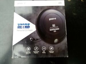 GROOVE RETRO PERSONAL CD PLAYER BRAND NEW & BOXED GV-PS110-BK