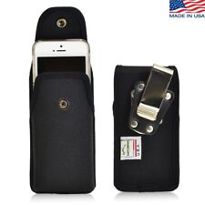 Turtleback iPhone 5 5s Vertical Holster Case Metal Clip Case with Snap Closure