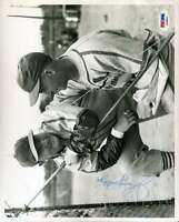 JOHNNY MIZE SIGNED JSA CERTIFIED 8X10 PHOTO AUTHENTICATED AUTOGRAPH