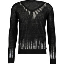 John Richmond Calze Fine maglione Nuovo con Etichetta