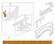 FORD OEM FENDER-Apron Reinforcement Left 4F9Z74101A03AA