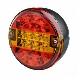 Genuine Trucklite/ Rubbolite 810/51/00 LED Hamburger Rear Lamp 12V/24 V