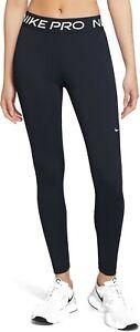 Nike Pro 365 Women's Leggings fitness yoga gym  black CZ9779-010 size XS S M L