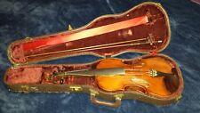"""Very old labelled Vintage violin """"H.C. Silvestre 1897""""."""
