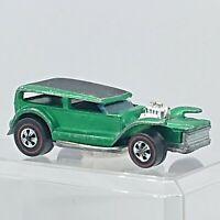1970 Hot Wheels The Demon Spectraflame Green Redline Hong Kong hw1086